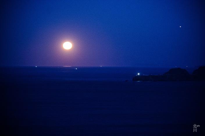 Moonset & Jupiter