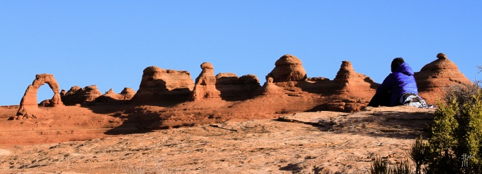 Delicate Arch from the other side