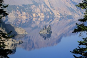 Phantom Ship Island - Crater Lake