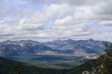 Looking West towards Angora Ridge